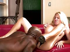 Angie Venus fuck with a black banger Ariel Rose