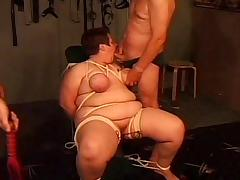 Fat Orgy, BBW, BDSM, Chubby, Chunky, Fat