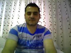straight male feet on webcam