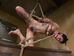 Scrumptious Krysta Kaos Plays Bondage Games With The Pope