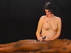 Angry, Amateur, Angry, Brunette, Handjob, Interracial