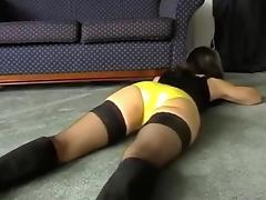 One of the superlatively precious fetish homemade vids