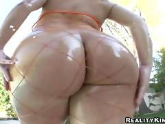 Oil, Anal, Ass, Assfucking, Fishnet, Fucking