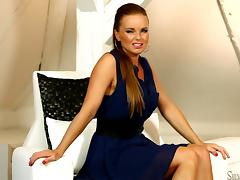 Beautiful Nathaly M shows her amazing body to Silvia Saint