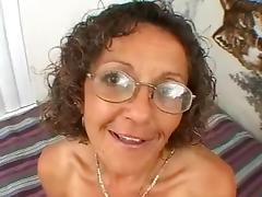 Allure, Adorable, Allure, Glasses, Handjob, Mature