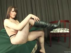 A mutual blowjob with a horny shemale Bianca