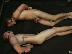 Van Darkholme And Matthew Singer Play Bondage Games Together