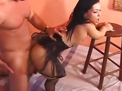 Midget's Little Slot Gets Stuffed porn video