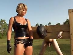 Screwed in the field by femdom-goddess