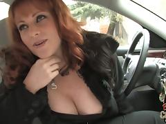 Gorgeous MILF With Big Tits Kylie Ireland Picks Up Black Stranger