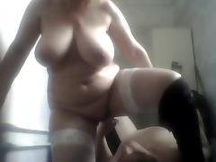 Russian mature mom and her stupid boy! Homemade! Amateur! porn video
