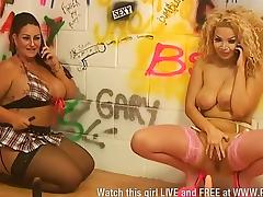 Dani Amore & Aruba J on screen together