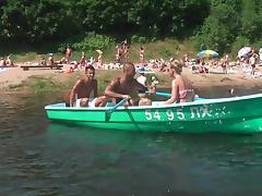 Boat, Boat, Double, Teen, Double Penetration, Yacht