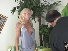 All, Big Tits, Blonde, Blowjob, Cuckold, Handjob