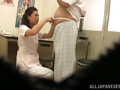 Candid, Asian, Blowjob, Doctor, Hidden, Japanese