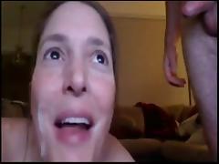 Amateur facial compilation