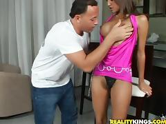 Tasty Halia Hill Gets Her Pussy Fingered Before Going Hardcore