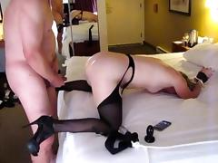 First Anal Fucking in Hotel