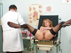 Doctor, Blonde, Couple, Doctor, Gyno, HD