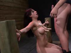 Bondage, Asian, BDSM, Blowjob, Bondage, Bound