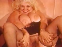 Vintage Mature, BBW, Blonde, Chubby, Chunky, Fat