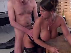 Hot Euro Babe Fucking Cock