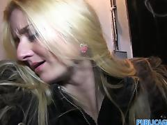 PublicAgent - Long haired blonde take cumshot