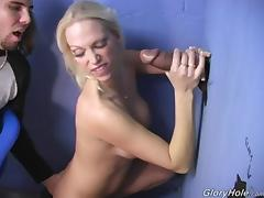 All, Blowjob, Gloryhole, Handjob, Interracial, MMF