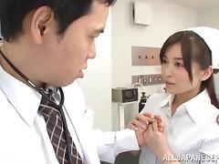 Hot milf Saya Niiyama in hardcore pov fucking