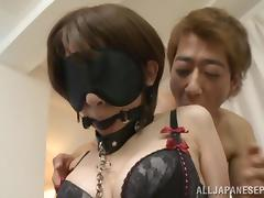 Yukina amazing Asian milf enjoys slave bondage game