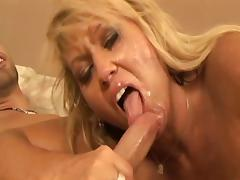 Blonde Mom Fucks Daughter's Boyfriend