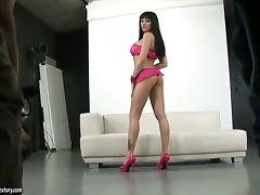 Anastasia Brill goes solo for cam porn video
