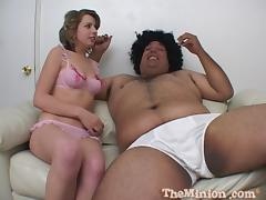 Nollie and her fat dude are in some oral perversions