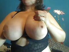 Webcams 2014 - Colombian MILF w HUGE TITS 1