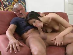 All, Beauty, Blowjob, Brunette, Facial, Riding