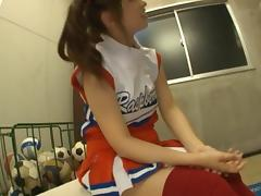 Hot cheerleader Kokomi Naruse teen fuck!