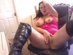 webcam slut in pink