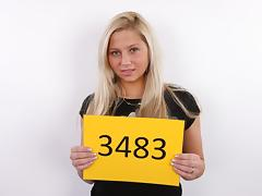CZECH CASTING - SEXY GOLDEN-HAIRED HOTTY VERONIKA (3483)