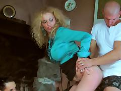Wet, Blowjob, CFNM, Pantyhose, Pissing, Pornstar