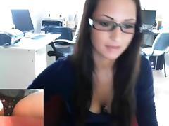 hungarian office girl 6