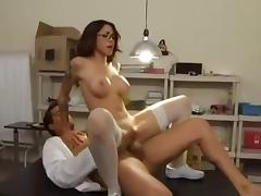 Adrena Sexy Nurse Witch Big Fake Boobs