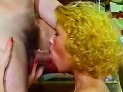 Close-up hardcore sex and blowjob