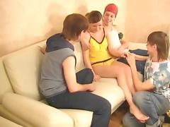 juvenile rus- group sex