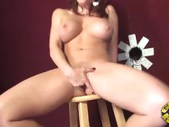Incredible Brittany O'Connell Masturbates Before Sucking A Big Dick