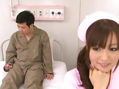 Miyu Hoshino is a Lovely clinic nurse!
