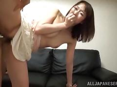 Scrumptious Japanese Lady Gets A Rimjob Before Going Hardcore
