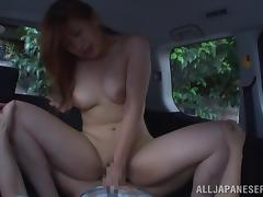 Fantastic Japanese Girl Gets Car Fucked Hard During Day Time