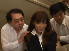 Miho Imamura In Stockings Fucked From All Angles