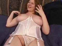 Big tits redhead.