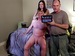 Dad, 18 19 Teens, Babe, Brunette, Teen, Old and Young